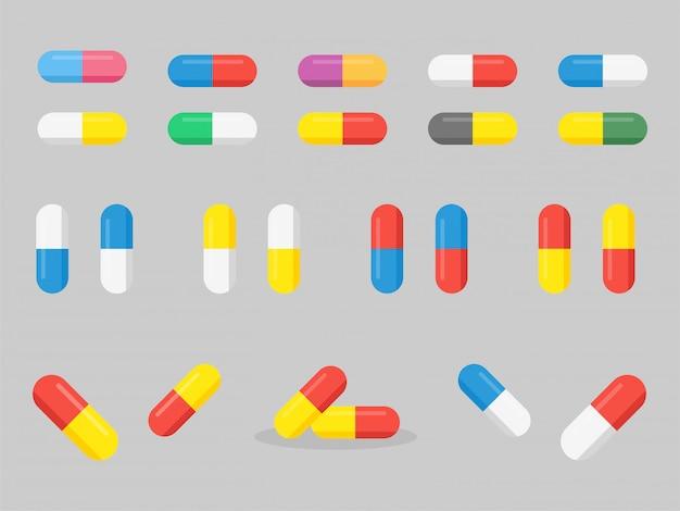 Stel geneeskunde medische gezondheidszorg concept