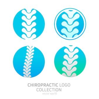 Stel het logo van de handmatige therapie in