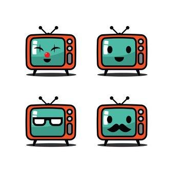 Stel karaktertelevisie in