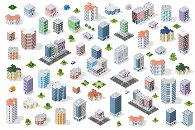 Stel stadsdistrict in