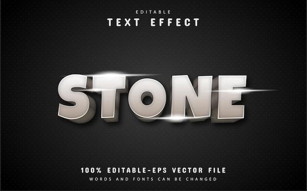 Stenen teksteffect