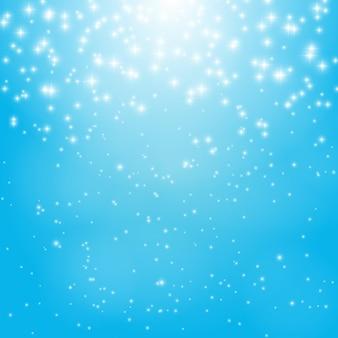 Ster blauwe hemel vector illustratie achtergrond eps10