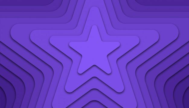 Sterren geometrische abstracte achtergrond