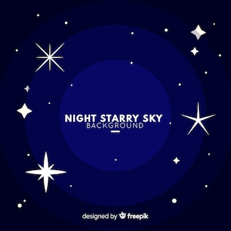 Sterrenhemelachtergrond van de nacht