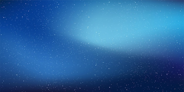 Sterrennacht met glanzende sterren aan de gradiënthemel