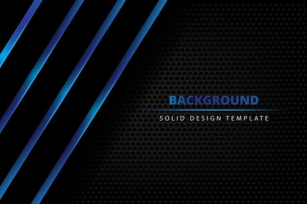 Stevige metaal blauwe donkere achtergrond