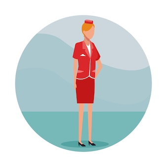 Stewardess job worker