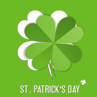 Sticker met st. patrick day