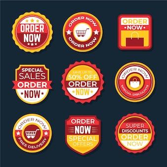 Stickers van bestelling nu promotie