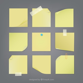Sticky notes collectie
