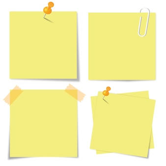 Sticky papieren set