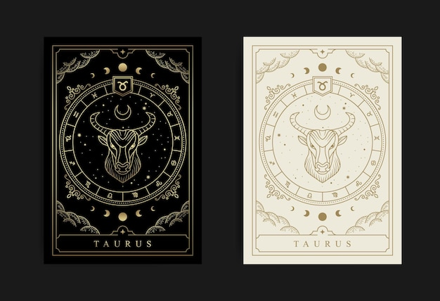 Stier horoscoop en dierenriem symbool