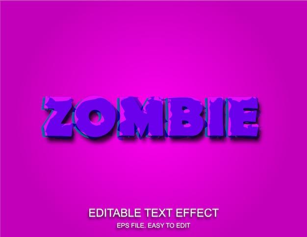 Stijl horror tekst effect