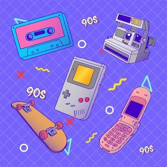 Stijl uit de jaren 90