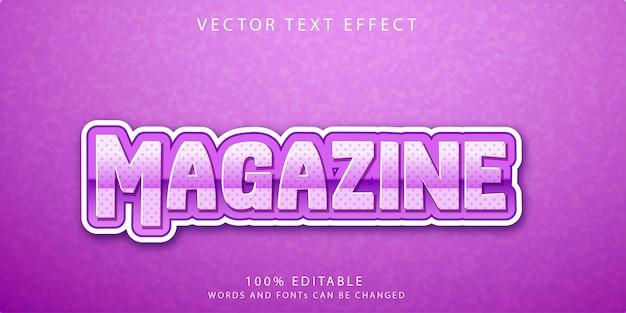 Stijlsjabloon voor tijdschriftteksteffecten