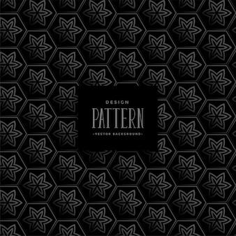 Stijlvol donker patroonontwerp als achtergrond