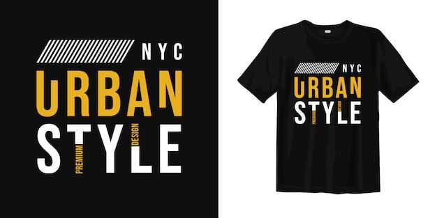 Stijlvol t-shirtontwerp in new york city
