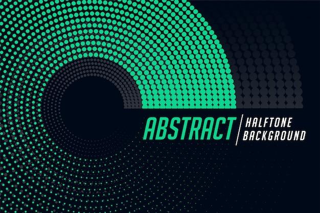 Stijlvolle cirkelvormige halftone patroon abstracte achtergrond