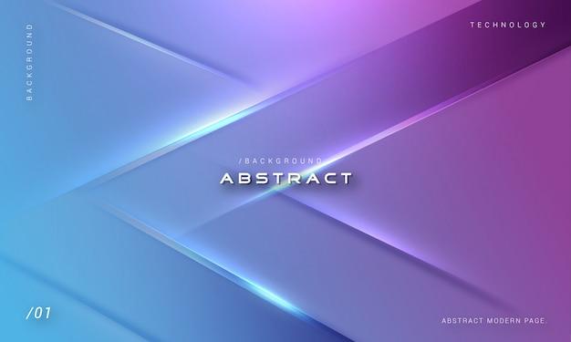 Stijlvolle futuristische geometrische lichte achtergrond