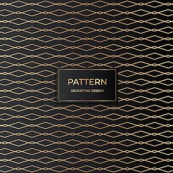 Stijlvolle gouden patroon achtergrond vector