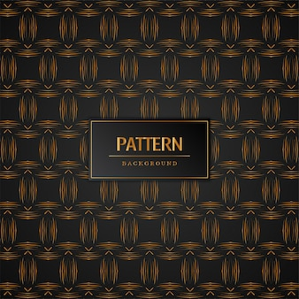 Stijlvolle gouden patroon achtergrond