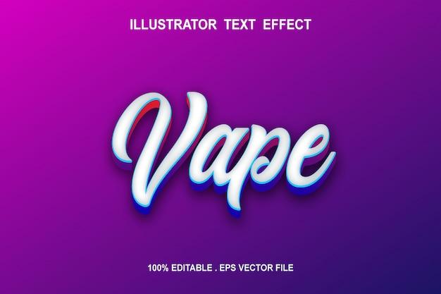 Stijlvolle kalligrafie lettertype-effect met schaduw