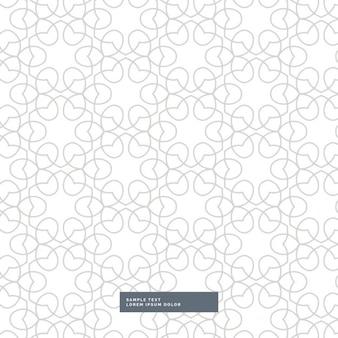 Stijlvolle lijntekeningen patroon achtergrond