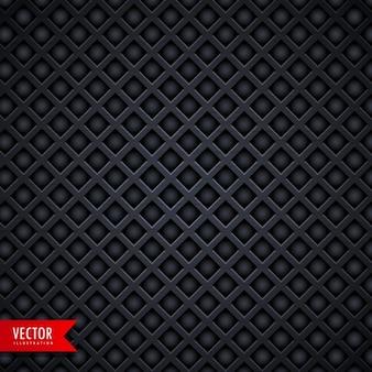 Stijlvolle metalen textuur donkere achtergrond met diamantvorm gaten
