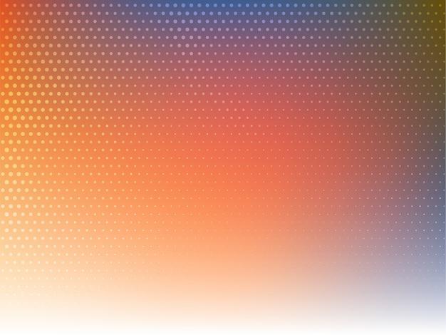 Stijlvolle moderne kleurrijke halftone achtergrond