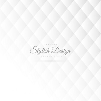 Stijlvolle witte patroon ontwerp