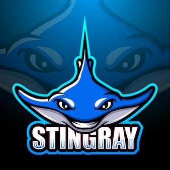 Stingray mascotte esport