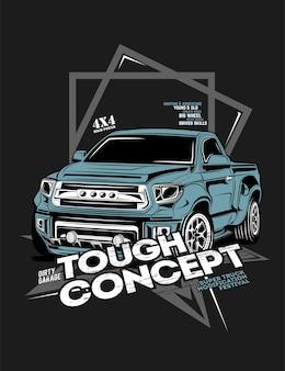 Stoer concept, super auto offroad