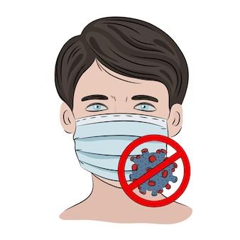 Stop coronavirus ncov gezondheid aarde menselijke epidemie