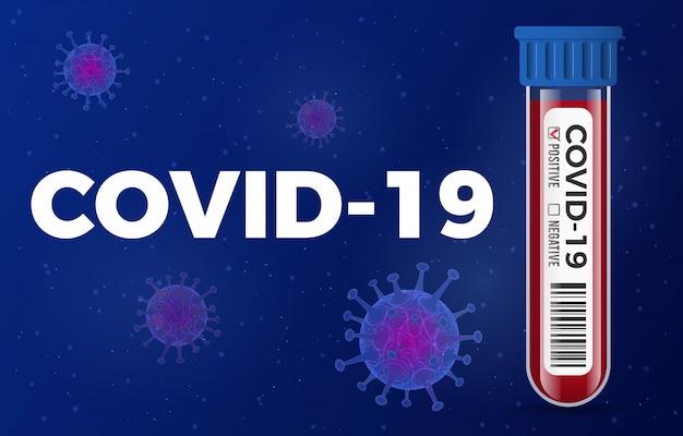 Stop de coronavirus-reageerbuis