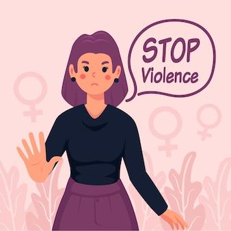 Stop gendergeweld met vrouwen
