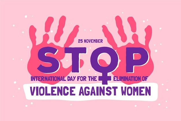 Stop geweld tegen vrouwen op 25 november