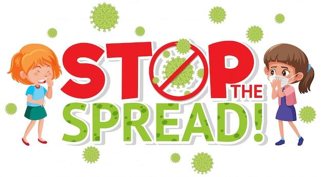 Stop het corona-virus