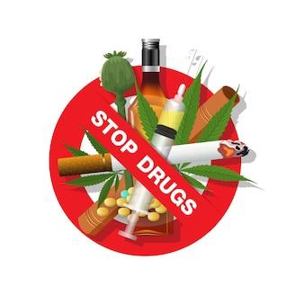 Stop met drugs