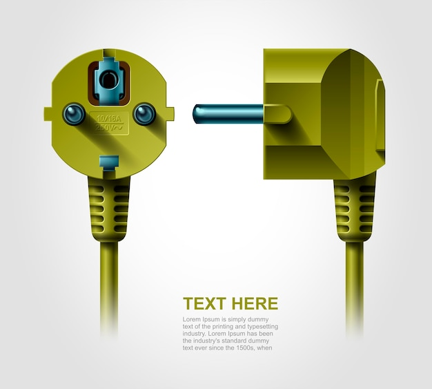 Stopcontact, realistisch object