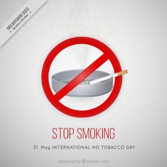 Stoppen met roken achtergrond