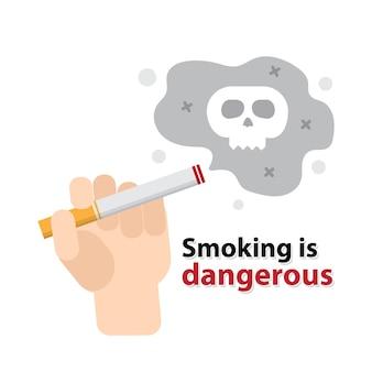 Stoppen met roken niet roken