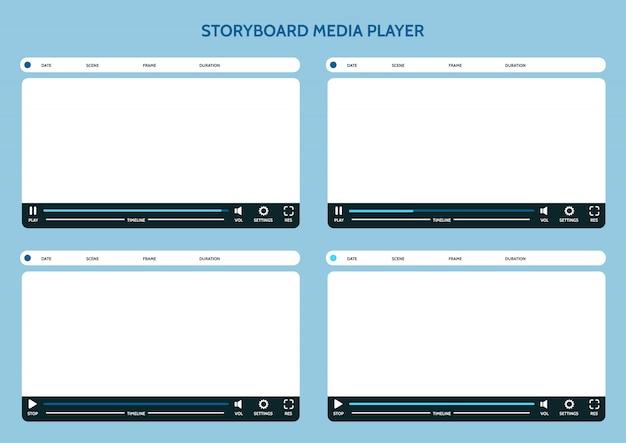 Storyboard mediaspeler