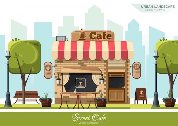 Straat cafe.