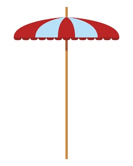 Strand paraplu pictogram