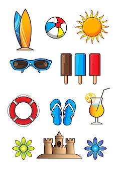 Strand pictogramserie