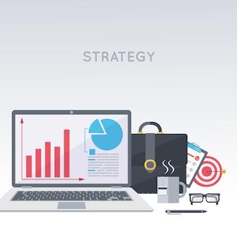 Strategie voor bedrijfsontwikkeling