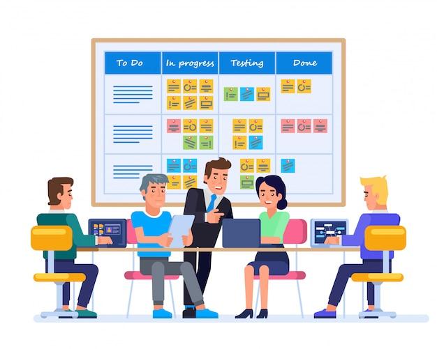 Strategische planning vergadering