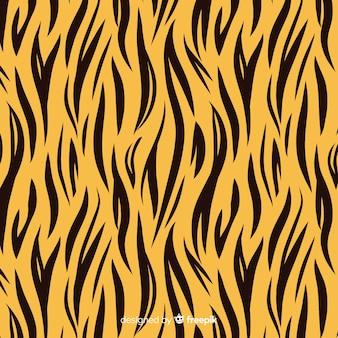 Streep tijger patroon