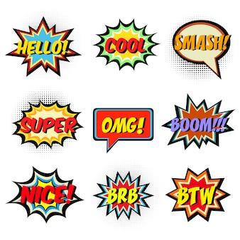 Stripboek woorden