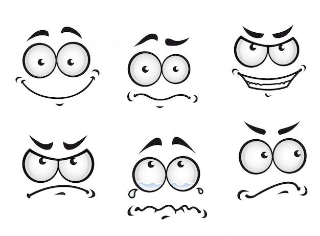 Strips gezichten